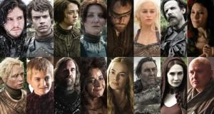 Instagram profily hlavných predstaviteľov seriálu Game Of Thrones