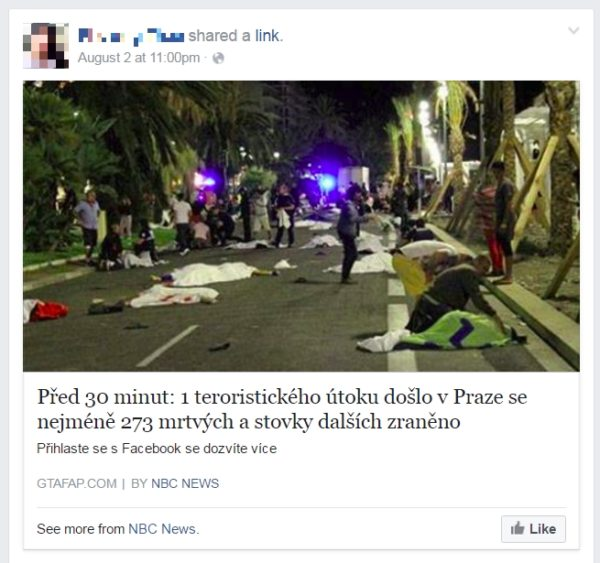 teroristický útok v Prahe